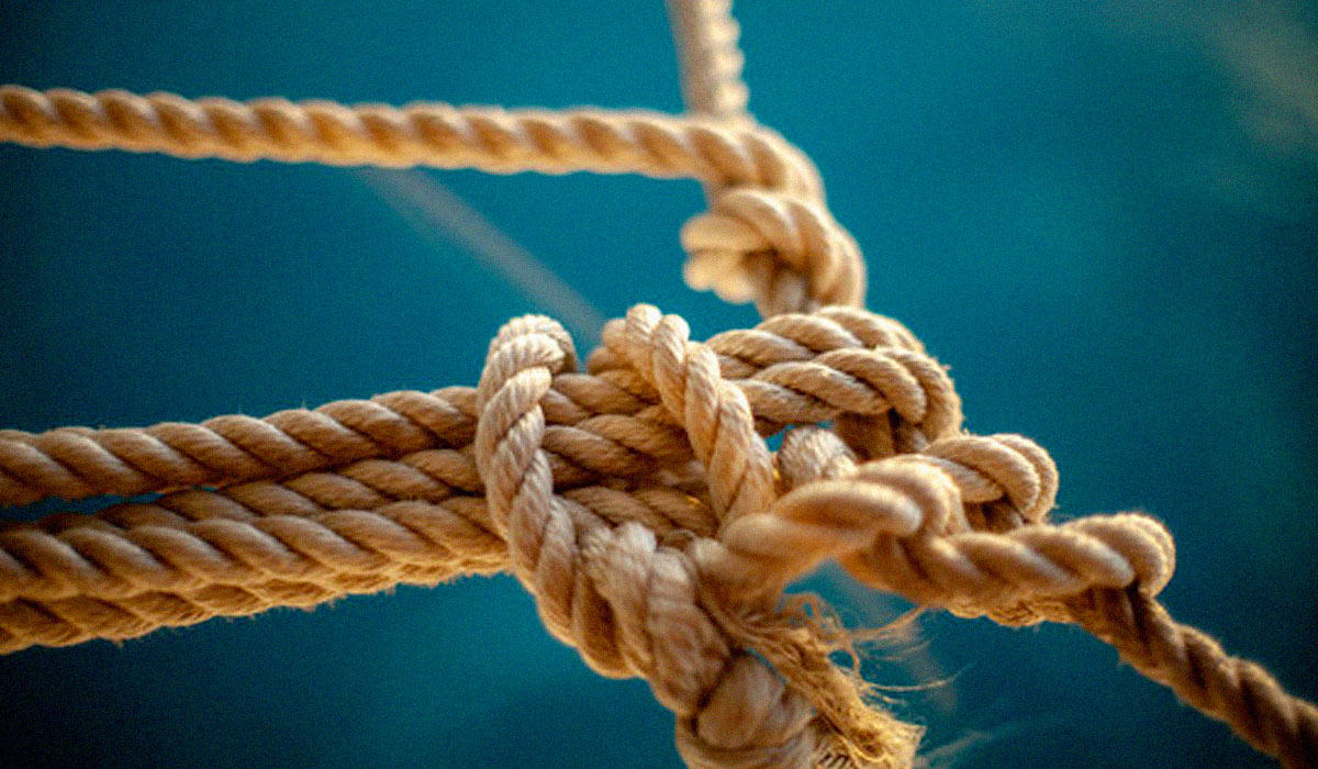 rope with many knots
